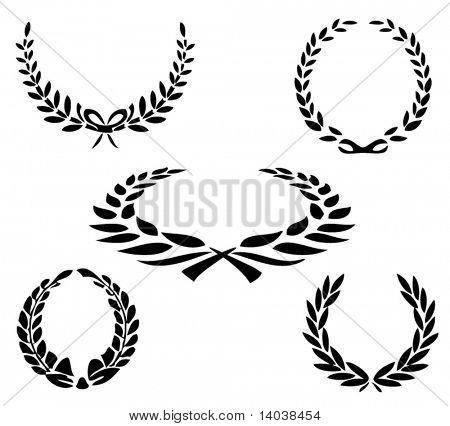 set of vector laurels