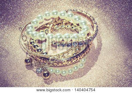 Fashion Pearl Bracelets Filtered