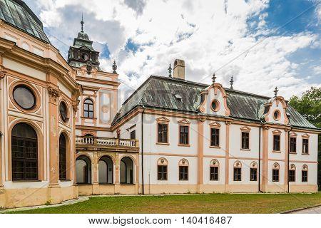 Neobaroque Manor House In Klatova Nova Ves