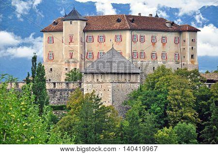 Thun castle in Trentino Alto Adidge, Italy