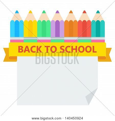 Back To School Pencil Sheet