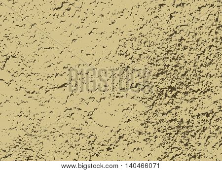 Brownish gray speckled background. Abstract mottled vector background poster