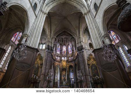 Saint Jacques Church, Compiegne, Oise, France