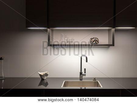 Low key Stylish and Elegant Kitchen Counter