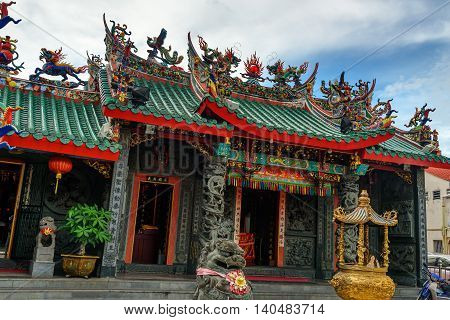 Hong San Si Temple In Kuching