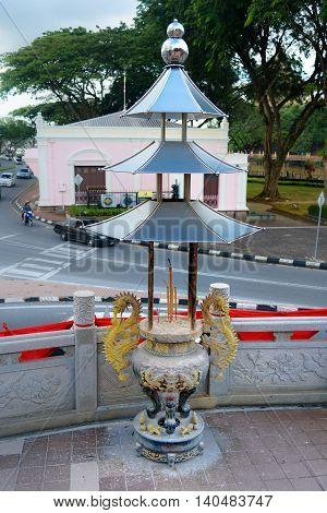 Tua Pek Kong Chinese Temple In Kuching