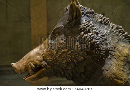 Florence Lucky Boar Head