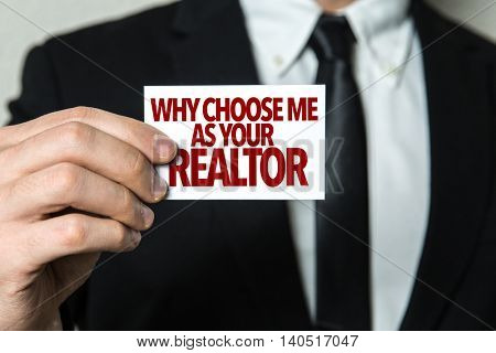 Why Choose Me As Your Realtor