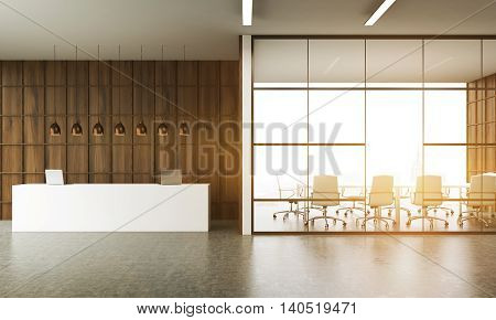 Meeting Room And Reception Desk