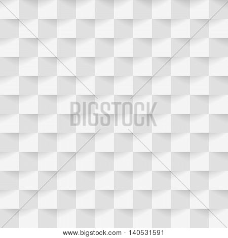 White square with light abstract background stock vector