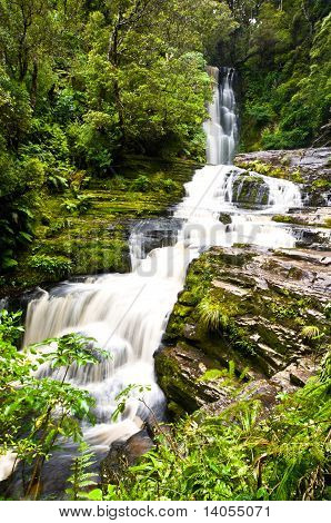 Mclean Falls In The Catlins