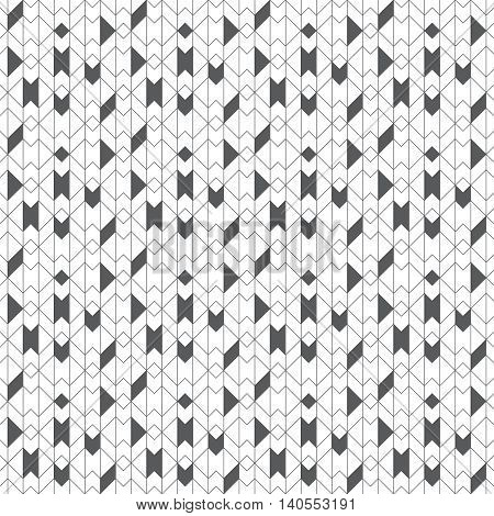 Geometrical seamless pattern. Stylish modern texture. Regularly repeating random chaotic geometric shapes. Vector abstract seamless background. Thin line grid. Contemporary design