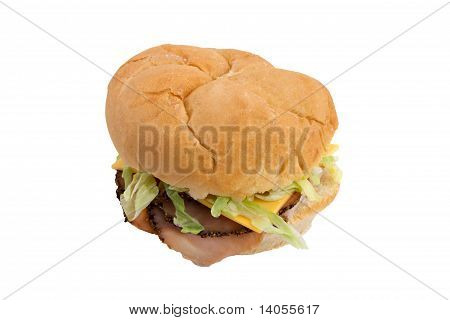 Small Peppercorn Turkey Sandwich