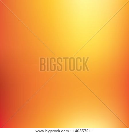 Abstract vector background, orange mesh gradient, wallpaper for you project