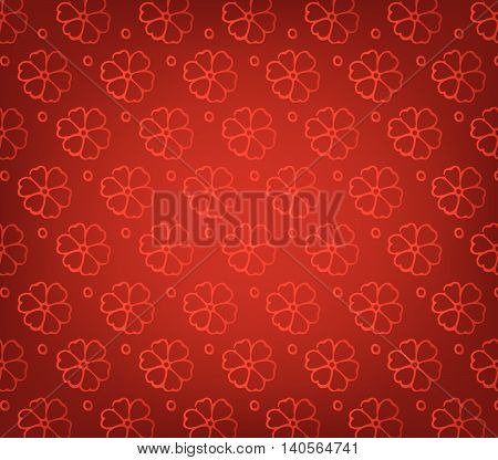 Oriental Chinese New Year pattern background for design