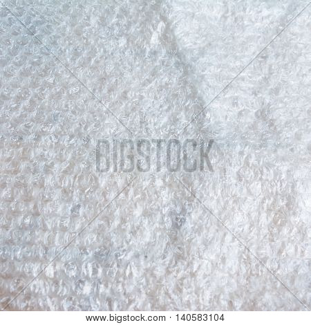 packing equipment air bubble warp material background