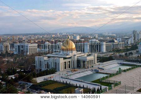 Präsident Palace in Aşgabat, turkmenistan