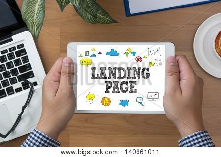 Landing Page  (seo Concept)