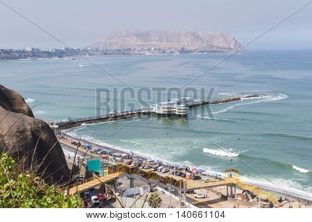 Seascape Lima, Peru