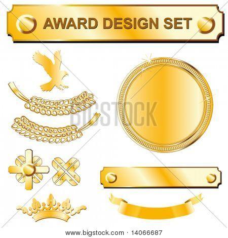 gold award design set
