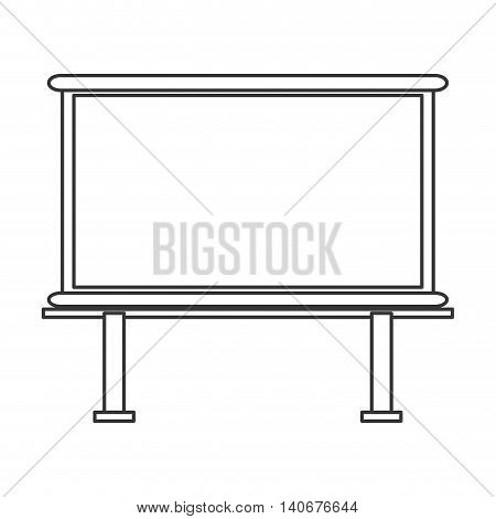 flat design marker board icon vector illustration