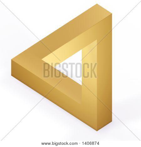 Optical Illustion Triangle