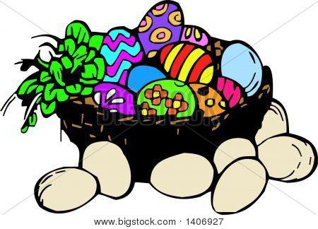 Easter Basket.Eps