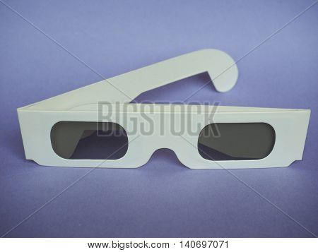 Disposable 3D Glasses For Movies