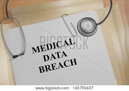 Medical Data Breach - Medical Concept