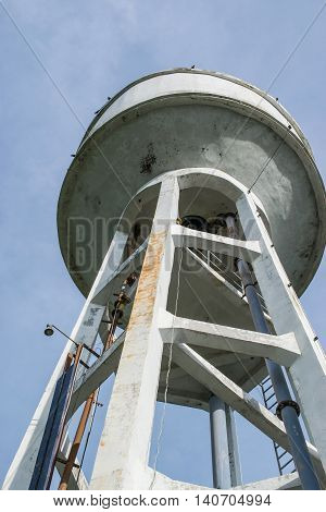 Water Tank Tower, abandon water tank tower