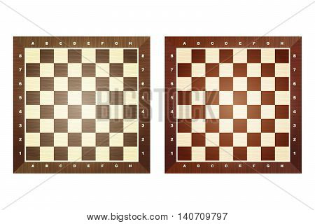 Set Of Chess Boards.