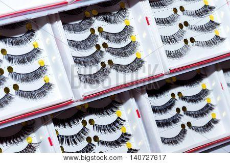 Fake, Plastic Eyelashes