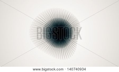 Metamorphose Of Amorphous Shape From Dots