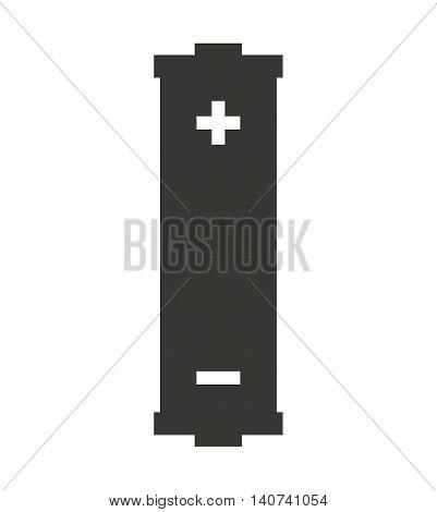 battery alcaline energy icon vector illustration design