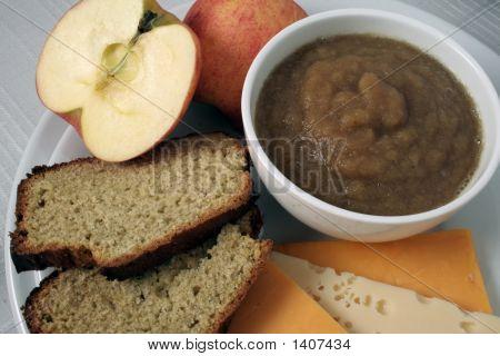 Microwave Applesauce, Closeup