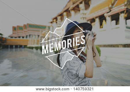 Memories Memory Mind Recalling Remember Concept