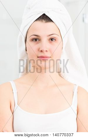 With Completely Clean Complexion