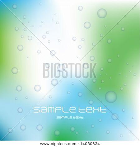 Bubbles background