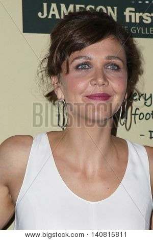 LOS ANGELES - JUL 30:  Maggie Gyllenhaal at the Jameson's