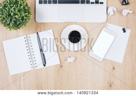 Messy Office Table