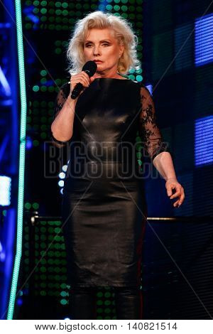 NEW  YORK-NOV 13: Debbie Harry of Blondie on stage during VH1's 2nd Annual 'You Oughta Know Live In Concert' 2014 at Hammerstein Ballroom on November 13, 2014 in New York City.