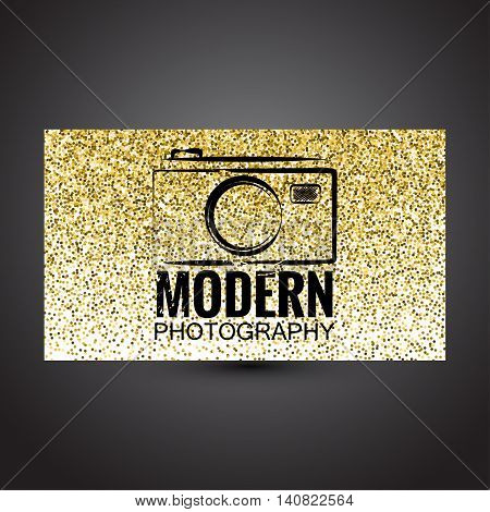 Photocam logotypes. Photography vintage badges and icons.