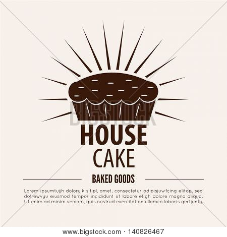 Bakery logotype. Bakery or bred shop vintage design element. Vector Illustration.