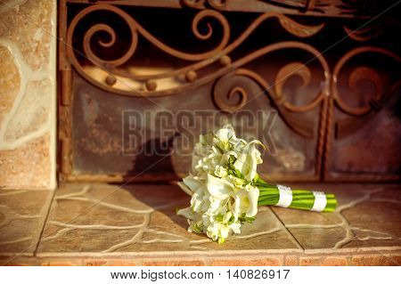 Beautiful Bouquet Of Lily  The Bride