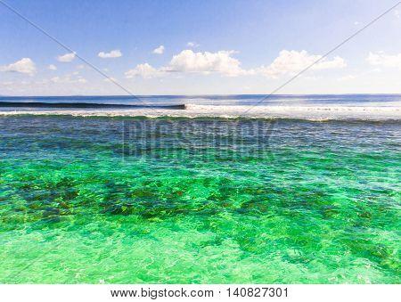 Seascape Lagoon Waves
