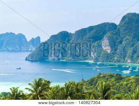 Azure Bay Exotic Backdrop