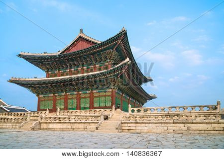 Gyeongbokgung Palace, Korean palace in Seoul, South Korea
