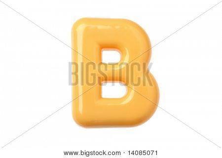 Plastic Toy Letter B