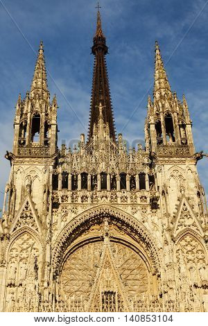 Rouen Cathedral Notre Dame Rouen Normandy France