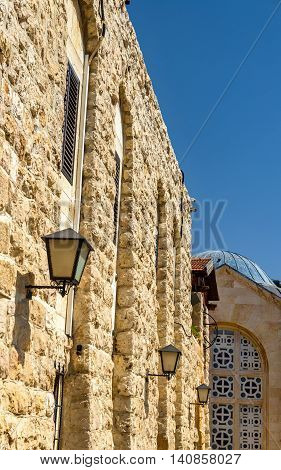 Church of All Nations on the Mount of Olives in Jerusalem, Israel